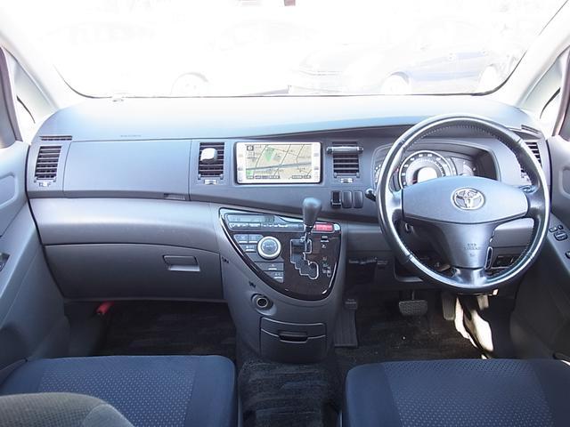 トヨタ アイシス プラタナ Bモニタ付HDDナビETC 左側電動 Tチェーン
