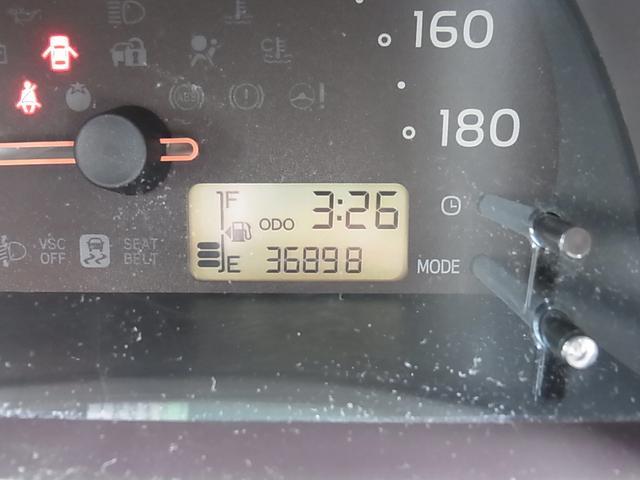 走行36898km!