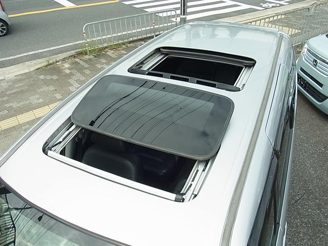 GエアロHDDナビパッケージ ダブルサンルーフ シートヒーター付レザーシート 7人乗 両側電動スライドドア ETC タイミングチェーン(3枚目)