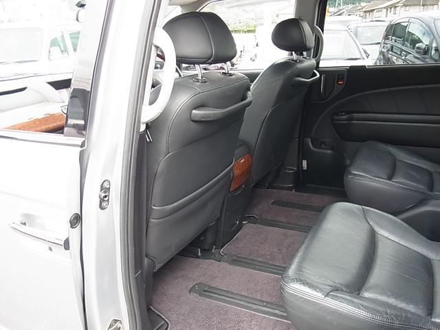 GエアロHDDナビパッケージ ダブルサンルーフ シートヒーター付レザーシート 7人乗 両側電動スライドドア ETC タイミングチェーン(22枚目)