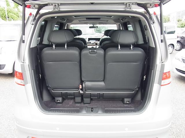 GエアロHDDナビパッケージ ダブルサンルーフ シートヒーター付レザーシート 7人乗 両側電動スライドドア ETC タイミングチェーン(26枚目)