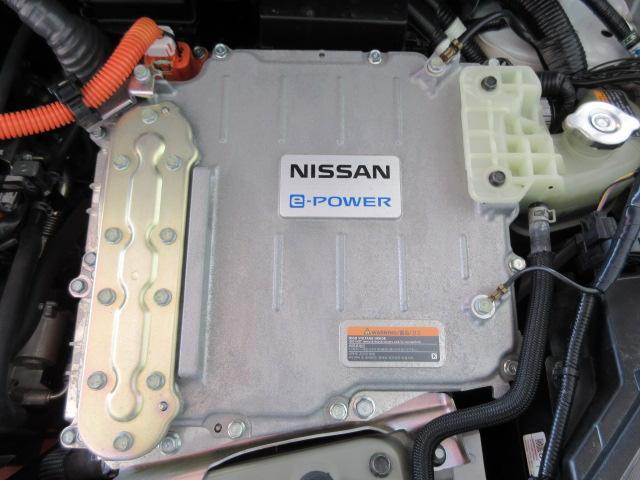 カタログ燃費34.0Km/lの低燃費e‐パワーエンジン!