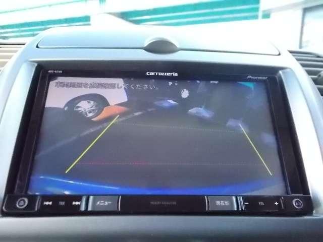 バックビューモニターが付いているので、苦手なバックも画面で確認できるので安心・安全。