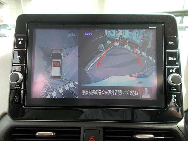 X 660 X 9インチ日産純正メモリーナビゲーション・アラウンドモニター・オートライト・インテリジェントキー・アイドリングストップ(5枚目)