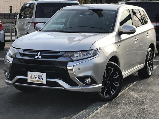 「三菱」「アウトランダーPHEV」「SUV・クロカン」「京都府」の中古車49