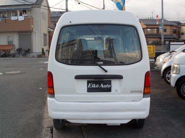 「スバル」「サンバーバン」「軽自動車」「京都府」の中古車3