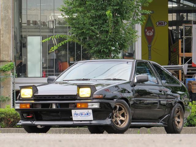 トヨタ スプリンタートレノ GT-V AE86 3ナンバー公認20Vエンジン搭載