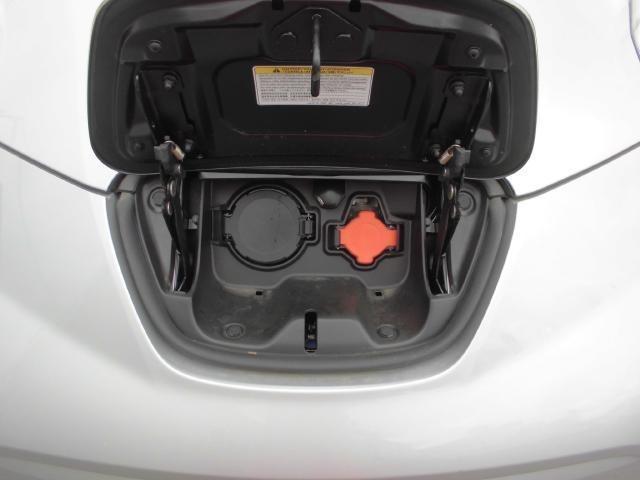 充電ポートです。左が急速充電、右が普通充電です。