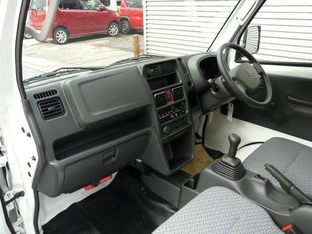 KCエアコン・パワステ ABS 4WD 5MTスズキ全国保証(8枚目)