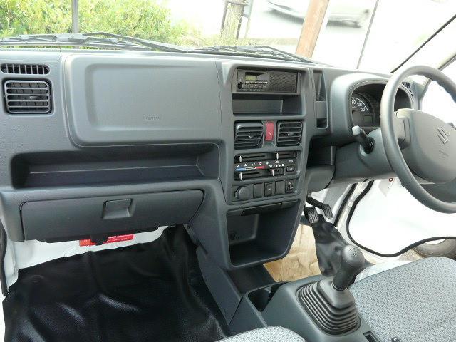 KCエアコン・パワステ ABS 4WD 5MTスズキ全国保証(13枚目)