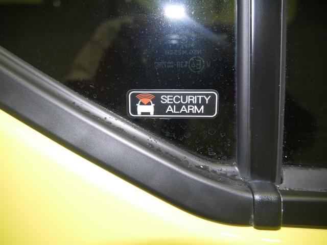セキュリティアラーム標準装備ですので安心ですね。