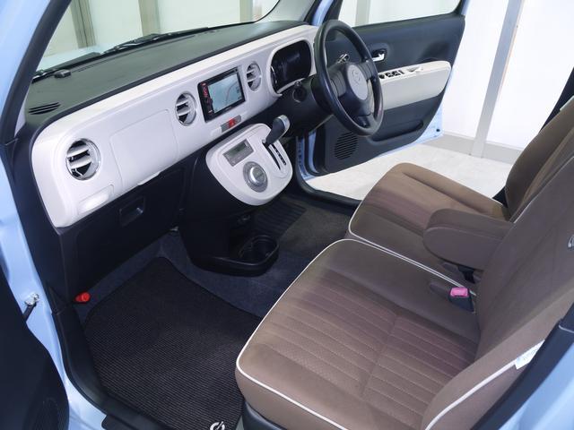 ココアXスペシャルコーデ カーナビゲーション ETC車載器 カーナビゲーション ワンセグTV ETC車載器 スマートキー オートエアコン 高さ155cm以下 フロントベンチシート(18枚目)