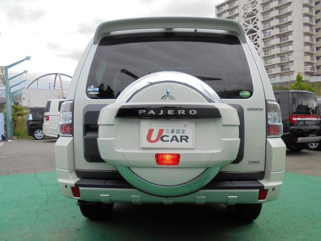 三菱 パジェロ ロング スーパーエクシード  レザーシート サンルーフ