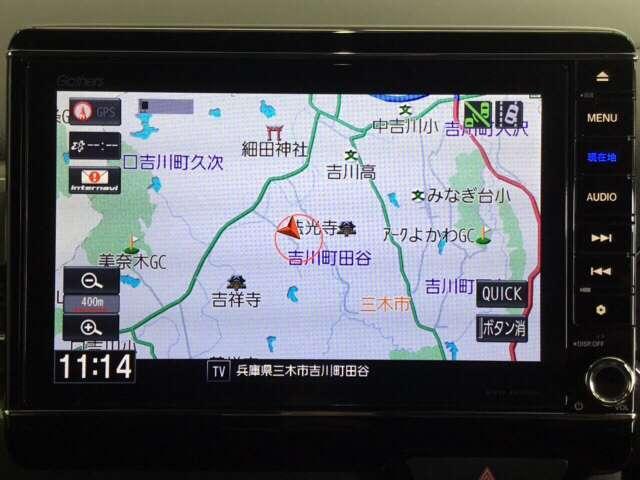 L・ターボホンダセンシング 当社試乗車8inchナビDレコ(4枚目)