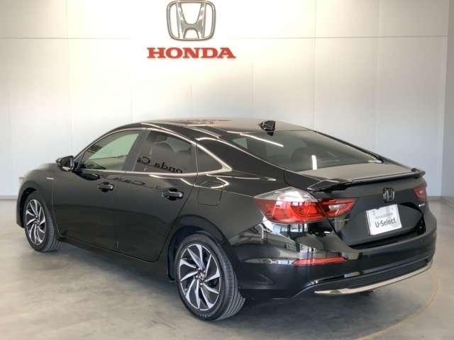 EX・ブラックスタイル Honda SENSING ブラインドスポットインフォメーション Honda インターナビ+リンクアップフリー+ETC2.0車載器〈ナビゲーション連動〉18インチアルミホイール(16枚目)