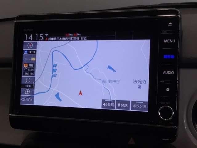 オリジナル 当社デモカー 8インチナビ/Bluetooth・DVD再生・録音・フルセグ/ 衝突軽減ブレーキ(車線認識)・前後ドライブレコーダー・LEDヘッドライト(3枚目)