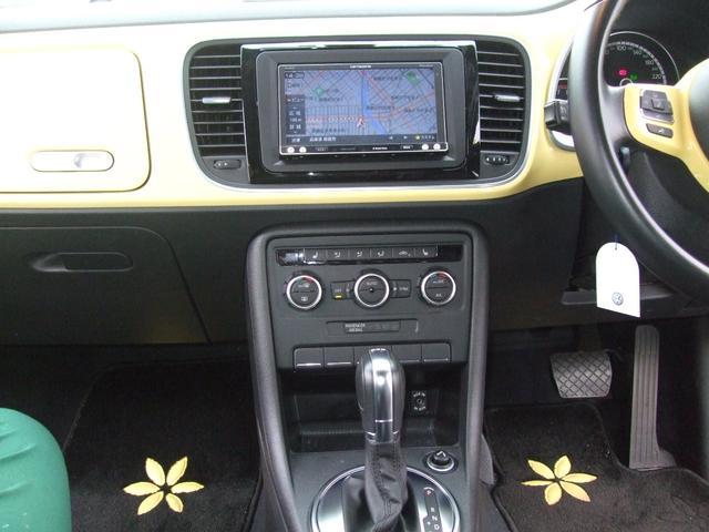 フォルクスワーゲン VW ザ・ビートル デザインレザーパッケージ 1オーナー本皮フルセグ