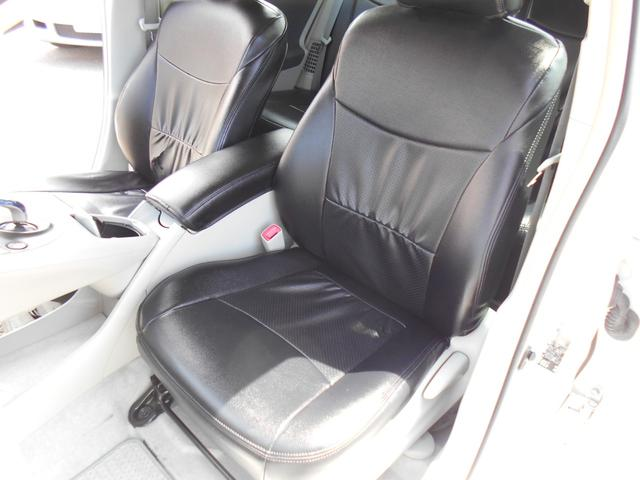 助手席の状態画像です!!黒レザー調シートカバー座面に少し切れがあります・・・・
