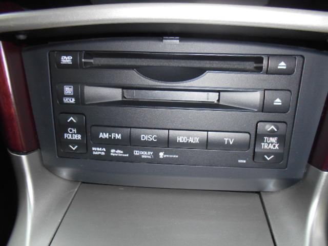 カバーをプッシュすればDVD&CD&MDステレオが装備されています!!