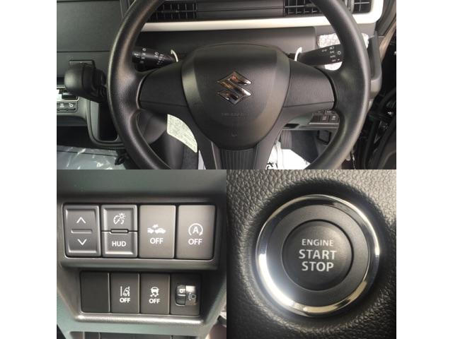 スズキ ワゴンR ハイブリッドFX デュアルカメラブレーキ キーフリー