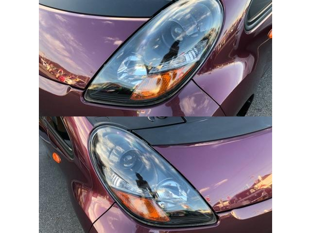 濁り、曇りの無いキレイな両ヘッドライト!HIDへのたま交換も可能です!