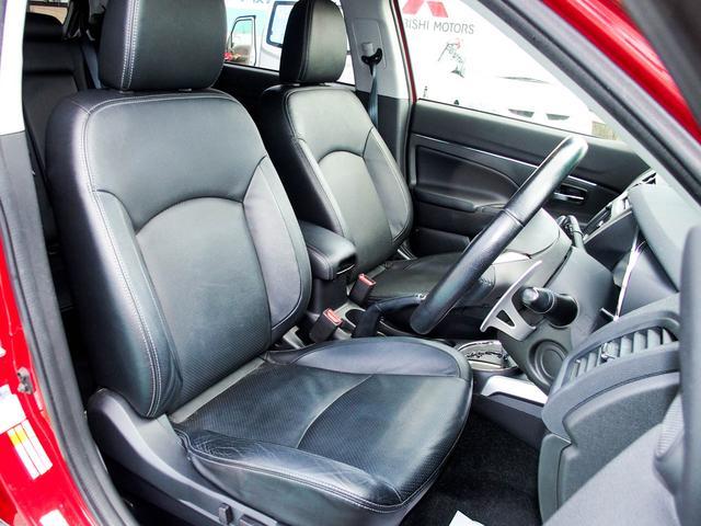 三菱 RVR G 4WD 黒革シート メモリーナビ Rカメラ ETC