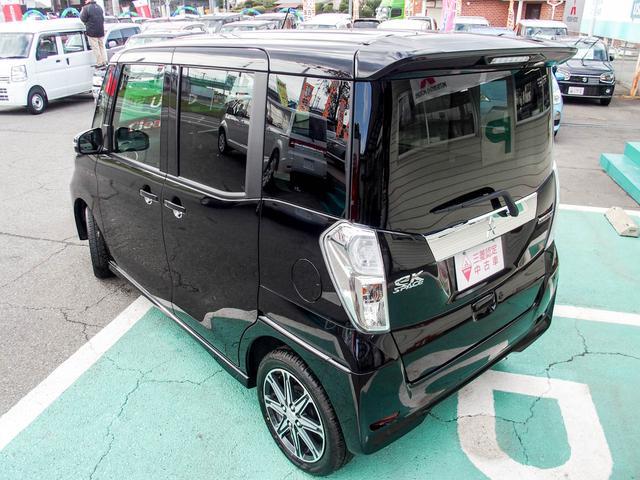 三菱 eKスペースカスタム カスタムT e-アシスト FCM-City シートヒーター