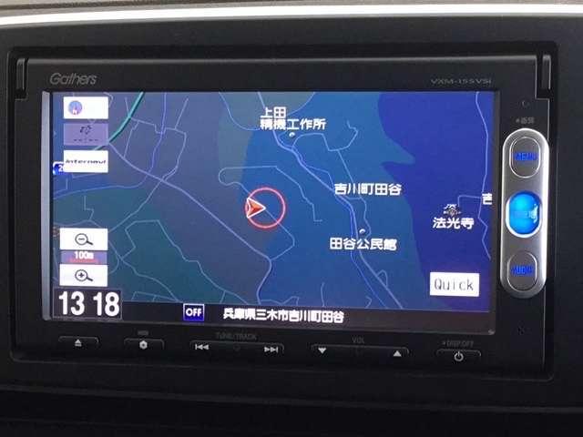 G・Aパッケージ ワンオーナー 7インチナビ/Bluetooth・DVD再生・ワンセグ対応/ 衝突軽減ブレーキ HIDヘッドライト(3枚目)