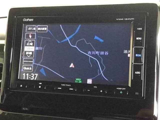 G・EXホンダセンシング 7インチナビ/Bluetooth・DVD再生・フルセグ対応/ フロントドライブレコーダー 衝突軽減ブレーキ(車線認識) 両側電動スライドドア LEDフォグライト(3枚目)