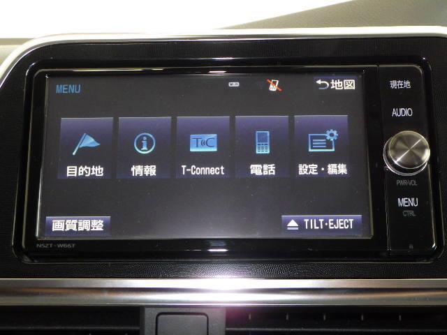 ハイブリッドG フルセグ メモリーナビ DVD再生 ミュージックプレイヤー接続可 バックカメラ 衝突被害軽減システム ETC 両側電動スライド LEDヘッドランプ ウオークスルー 乗車定員7人 3列シート フルエアロ(8枚目)