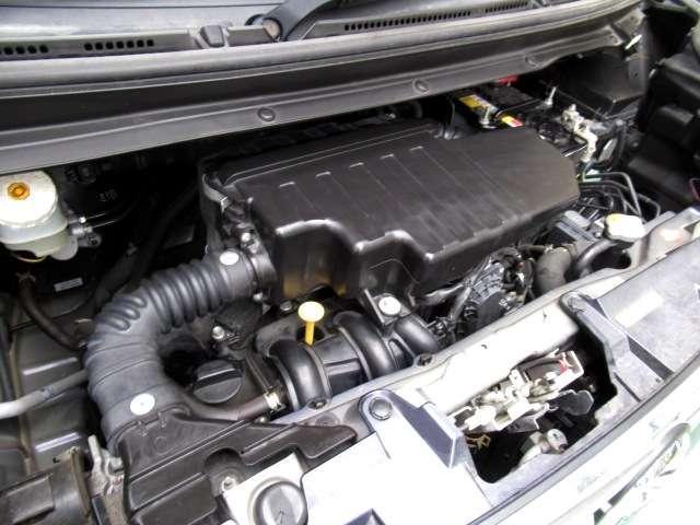 エンジンもしっかり整備!お渡し前にオイル交換・エレメント交換、補機ベルト、エアクリーナー、エアコンフィルター、ワイパーリフィールなど消耗品の交換に、そのほか点検時に交換必要部品は追加なしで交換します。