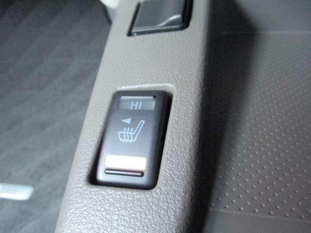 運転席・助手席のシートにヒーター付きなのでエアコンの使用を減らして電費を稼ぐことができるんです。