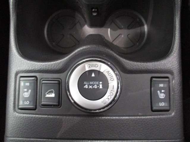4駆システムは2WD・AUTO・4WDロックの3通り☆刻々と変化する路面をダイヤル回すだけで切り替えOK♪街乗り〜悪路まで走破☆