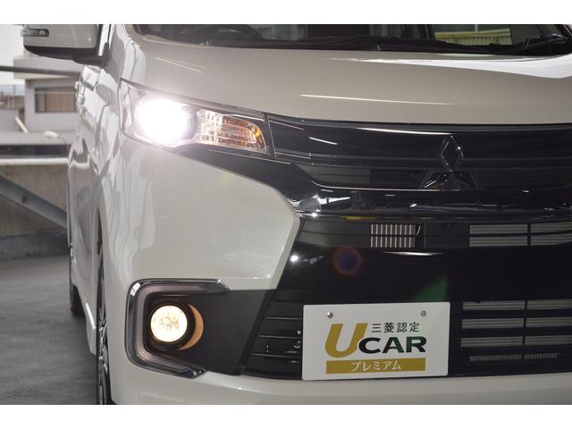 【ディスチャージライト】明るいヘッドライトで、夜間のドライブも安心です。