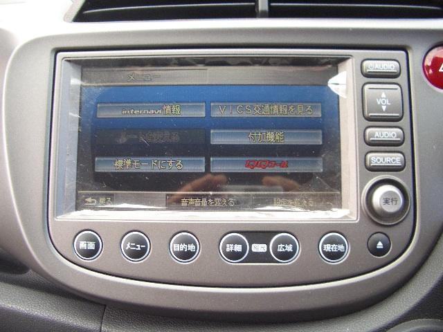 ホンダ フィット G HDDナビ地デジTVビデオバックカメラ  HID