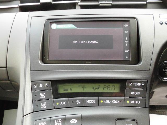 トヨタ プリウス Sツーリングセレクション  純正SDナビ スマートキー