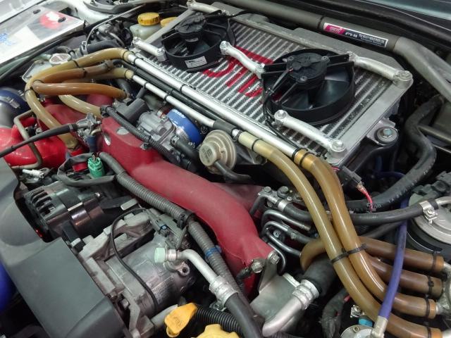 スバル インプレッサ WRXSTIスペCRA-Rコスワース2.5Lエンジン公認済み