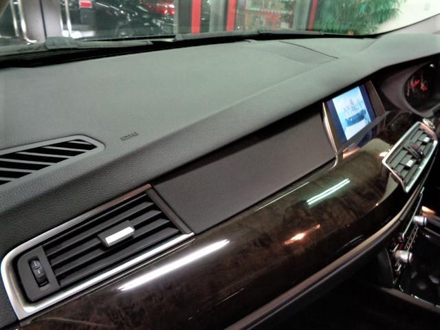 535iグランツーリスモ 黒革ウッドインテリアガラスサンルーフフルセグナビTVバックカメラFリップスポイラーローダウンサス20インチAW電動リアゲートクルーズコントロールパワーシートシートヒーター直6ターボ306PS8速AT(24枚目)