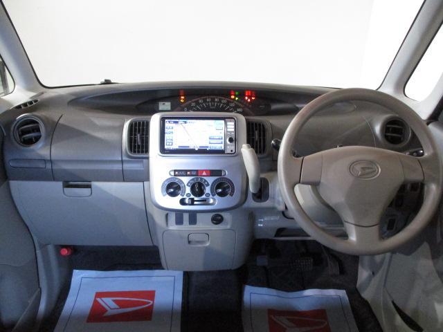 L 純正フルセグナビ・CD/DVD・ブル-トゥ-ス・CVT車・フル装備・リモコンキ-・電動格納ドアミラ-・ABS・14インチフルホイ-ルキャップ・マット/バイザ-装備(2枚目)