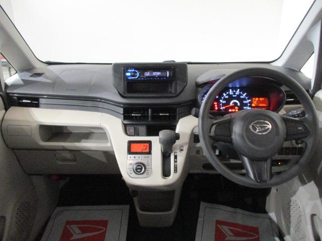 X CDステレオ・ETC車載器・ドライブレコ-ダ-・オ-トエアコン・スマ-トキ-・電動格納ドアミラ-・ABS・14インチアルミホイ-ル・マット/バイザ-装備(3枚目)