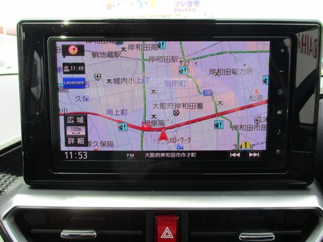 G スマ-トアシスト・純正9インチフルセグナビ・CD/DVD・ブル-トゥ-ス・LEDヘッドライト・スマ-トキ-・オ-トエアコン・ABS・17インチアルミホイ-ル・マット装備(6枚目)