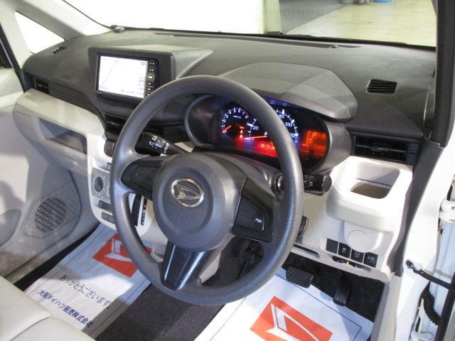 L ダイハツ純正ワンセグナビ搭載 純正ETC車載器搭載 マニュアルエアコン 電動格納ミラー ハロゲンヘッドライト キーレスエントリー(4枚目)