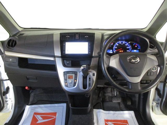 カスタム Xリミテッド SA スマートアシスト・純正ワンセグナビ・CD・ETC車載器・スマ-トキ-・オートエアコン・電動格納ドアミラ-・ABS・マット/バイザ-装備(3枚目)