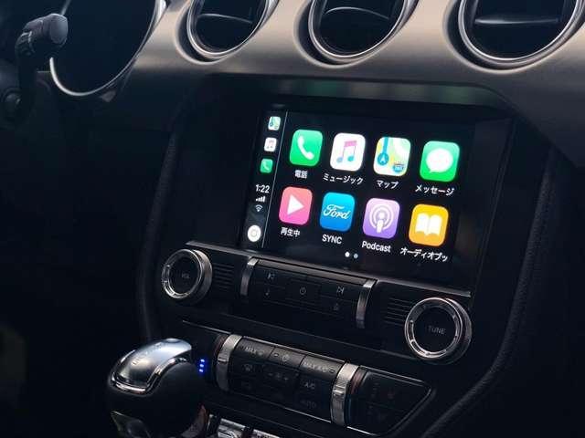最新のSYNCを装備しています。AppleCarPlay&AndroidAutoを装備しております。