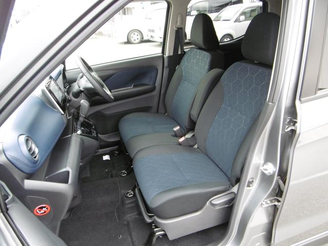 運転席、助手席にシートヒーター付き!