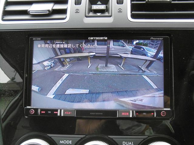 駐車はバックカメラで安心です!