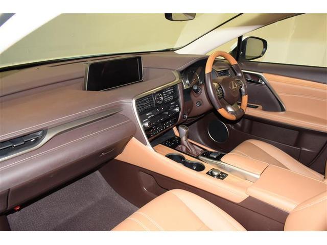 RX450hL 革シート サンルーフ 4WD フルセグ メモリーナビ DVD再生 ミュージックプレイヤー接続可 後席モニター バックカメラ 衝突被害軽減システム ETC LEDヘッドランプ 乗車定員7人 3列シート(11枚目)