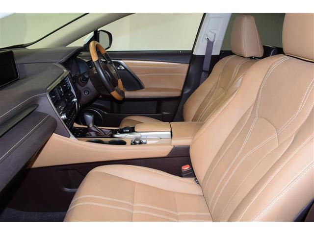 RX450hL 革シート サンルーフ 4WD フルセグ メモリーナビ DVD再生 ミュージックプレイヤー接続可 後席モニター バックカメラ 衝突被害軽減システム ETC LEDヘッドランプ 乗車定員7人 3列シート(12枚目)