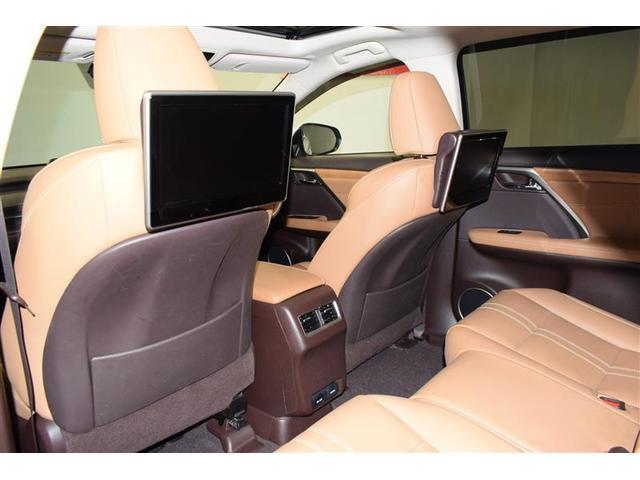 RX450hL 革シート サンルーフ 4WD フルセグ メモリーナビ DVD再生 ミュージックプレイヤー接続可 後席モニター バックカメラ 衝突被害軽減システム ETC LEDヘッドランプ 乗車定員7人 3列シート(13枚目)