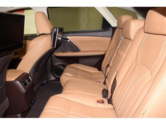 RX450hL 革シート サンルーフ 4WD フルセグ メモリーナビ DVD再生 ミュージックプレイヤー接続可 後席モニター バックカメラ 衝突被害軽減システム ETC LEDヘッドランプ 乗車定員7人 3列シート(14枚目)